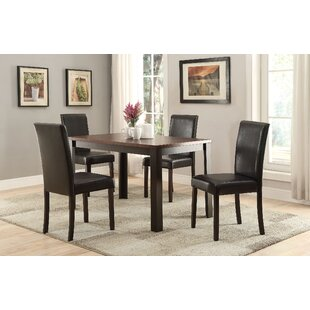 Register 5 Piece Dining Set by Winston Porter