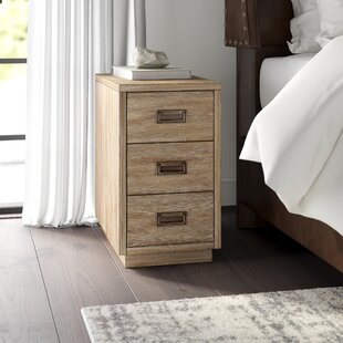 Looking for Woodcreek industrial End Table with Storage by Greyleigh