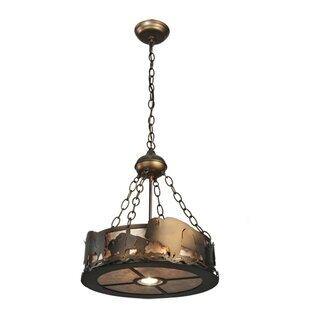 Meyda Tiffany Buffalo 2-Light Inverted Pendant