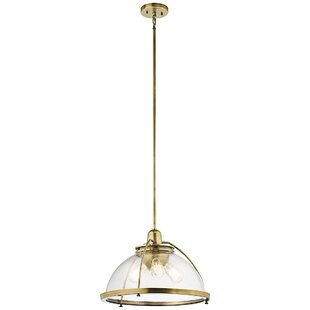 Gracie Oaks Brandice 3-Light Bowl Pendant