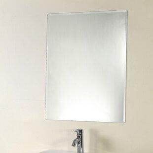Price comparison Rolfe Frameless Wall Mirror ByOrren Ellis