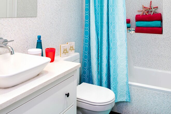 9 ideas for decorating a kids bathroom