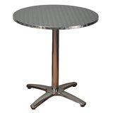 Round Aluminum Dining Table