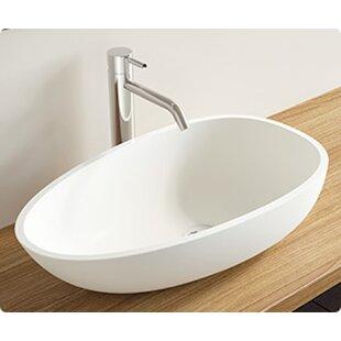 Affordable Polymarble Oval Vessel Bathroom Sink By Badeloft