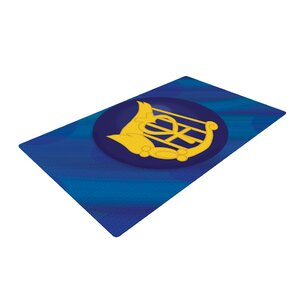 NL Designs Mercury Blue/Navy Area Rug