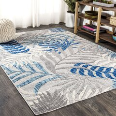 Gray Silver Tropical Area Rugs You Ll Love In 2021 Wayfair