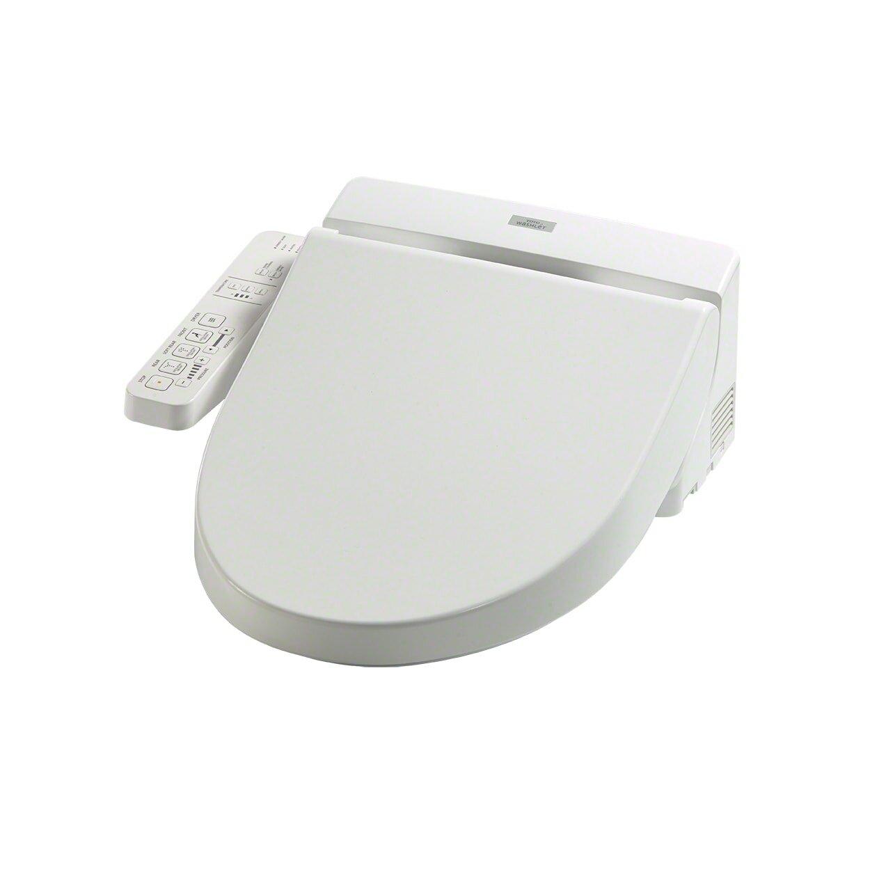 Toto Washlet C100 Toilet Seat Bidet & Reviews | Wayfair