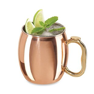 Dawud Plated 22 oz. Stainless Steel Moscow Mule Mug