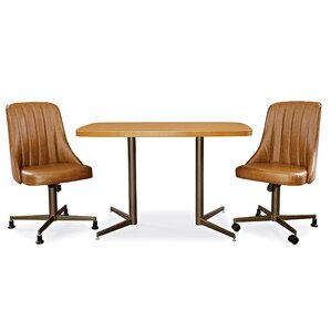 3 Piece Dining Set by AW Furniture