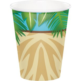 Safari Adventure Paper Disposable Cup (Set of 24)