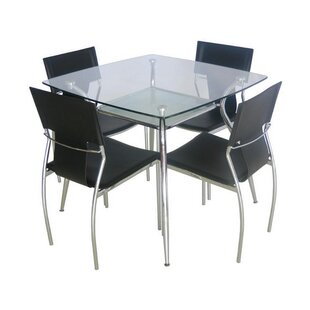 Thiel Tempered Glass Dining Table