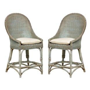 Bayou Breeze Glenville Solid Barrel Chair (Set of 2)