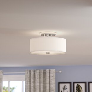 Mercury Row Bennet 2-Light Semi Flush Mount