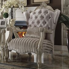 Versailles Wingback Chair by A&J Homes Studio