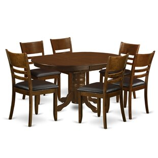 Aimee 7 Piece Dining Set by August Grove