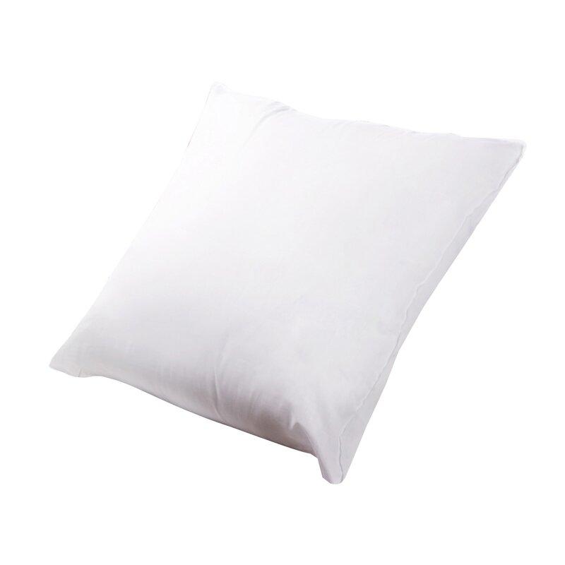 Alwyn Home Chenut Square Polyfill Cotton Euro Pillow Reviews Wayfair