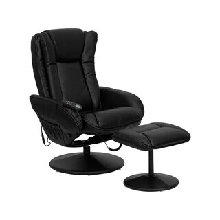 Amberella Manual Swivel Recliner with Ottoman by Ebern Designs SKU:EE609909 Order