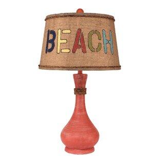 Hursey Smooth Genie Bottle Pot 28 Table Lamp