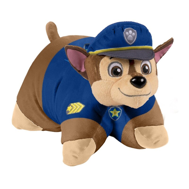 Kids Pillow rose 40 x 40 cm Cuddly Throw Cushion PAW PATROL In Action