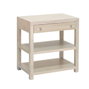End Table With Storage by Worlds Away Coupon