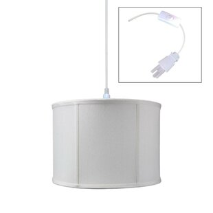 Astoria Grand Alorie Essexville 1-Light Drum Pendant