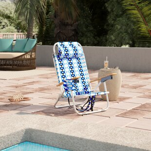 St. Augustine Reclining Beach Chair with Cushion