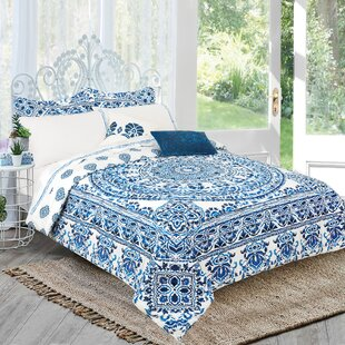 Aube Complete Reversible Comforter Set by Bungalow Rose