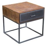 Hertford End Table with Storage by 17 Stories
