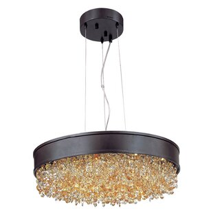 Everly Quinn Sunnydale 1-Light Drum Pendant