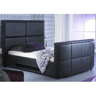 Francina Double Upholstered TV Bed By Metro Lane