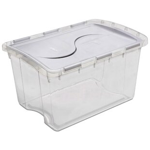 Storage Box With Hinged Lid Wayfair