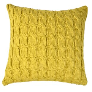 Big Cable Pillow Cover