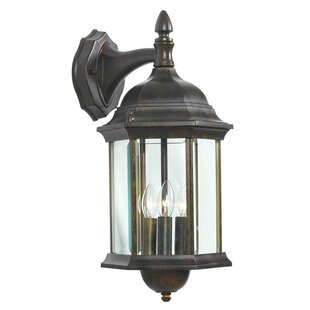 Read Reviews Custom Fit 3-Light Outdoor Wall Lantern By Wildon Home ®