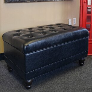 Rovetta Classic Faux Leather Storage Bench by NOYA USA