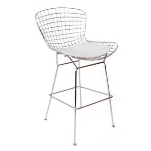Oppenheimer 26 Bar Stool with Leatherette PU Pad