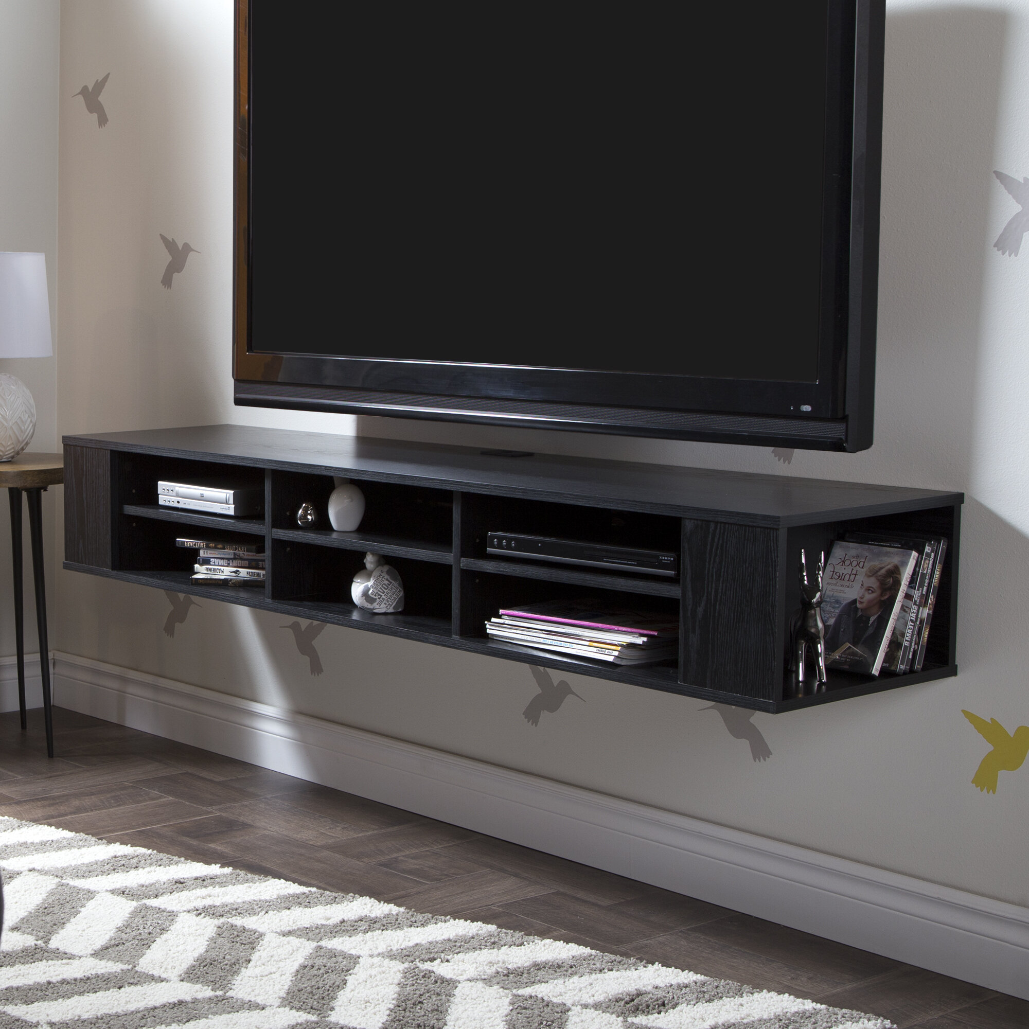City Life Floating Mount Tv Stand