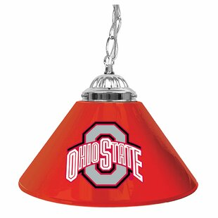 Ohio State Trademark Global 14 Single Shade Bar Lamp by Trademark Global
