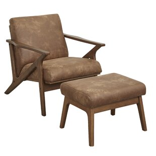 Choudhury Armchair and Ottoman by Union Rustic