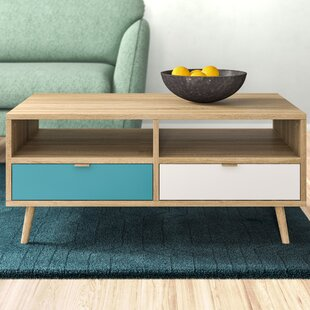 Hollington Coffee Table With Storage By Hykkon