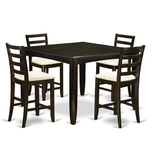 Tamarack 5 Piece Counter Height Dining Se..