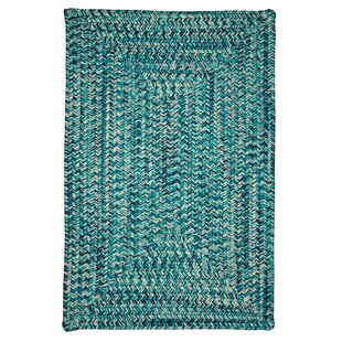 Giovanni Hand-Woven Blue Indoor/Outdoor Area Rug