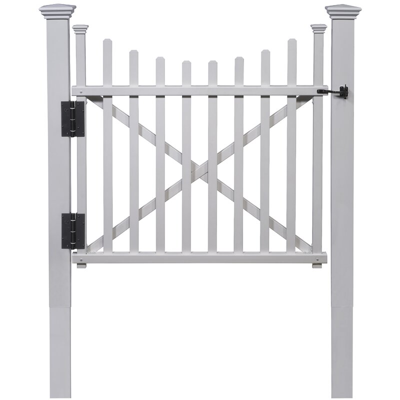 Zippity Outdoor Products Manchester Vinyl Gate