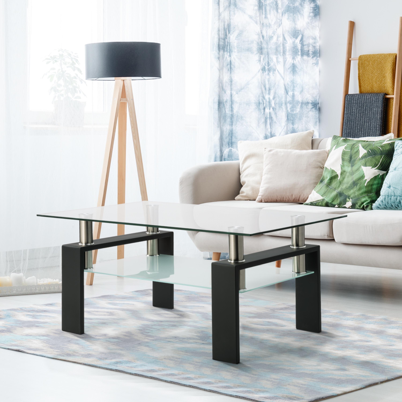 Orren Ellis Hunton Coffee Table With Storage Wayfair