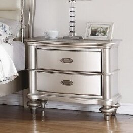 Tiya 2 Drawer Nightstand