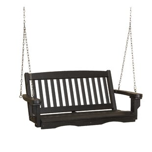 Classic Mission Porch Swing by Little Cottage Company