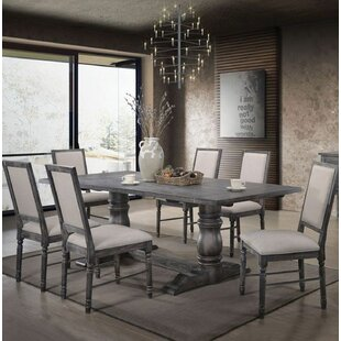 Ashly 7 Pieces Dining Set Ophelia & Co.