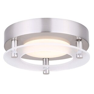 Roestel-Kuchenbuch LED Outdoor Flush Mount by Orren Ellis #2