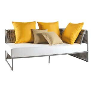 Bungalow Rose Pascarella Right Arm Loveseat with Cushions