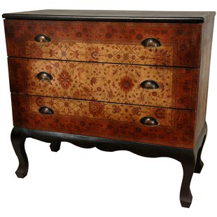 Clair Euro 3 Drawer Dresser by World Menagerie Today Sale Only