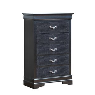 Paignton 5 Drawer Accent Chest by Mercer41